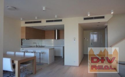 Prenájom: 4 izbový byt, Dvořákovo nábrežie, Bratislava I, Staré mesto, River park, zariadený, terasa 60m2, 2 parkovacie státia