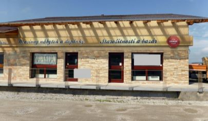BÁNOVCE NAD Bebravou, Polyfunkčný objekt a obchodné priestory, 240m2
