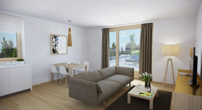 BN na predaj / 1 izb.byt/ 52m2/ balkon