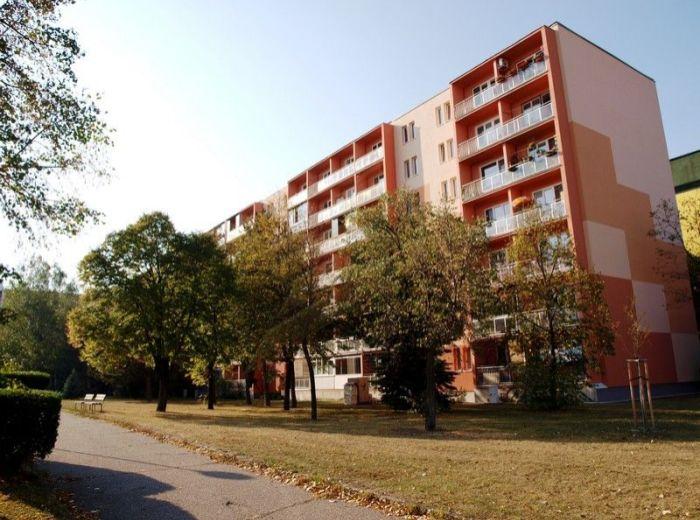 PREDANÉ - ROVNÍKOVÁ, 3-i byt, 69 m2 - s loggiou a komorou, zateplený dom v TICHUČKEJ A ZELENEJ časti RUŽINOVA