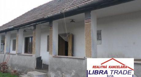 Predaj 3 - izbového rodinného domu v Kameníne.