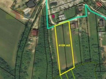 Pozemok 4126 m2, Sokolovce