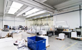 Modern production-warehouse hall with offices and spacious land plot for sale – Pezinok 18km from Bratislava