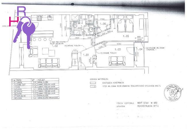 3 izbový byt po kompletnej rekonštrukcii