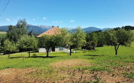 Dom na malebnom mieste s výhľadom na Nízke Tatry