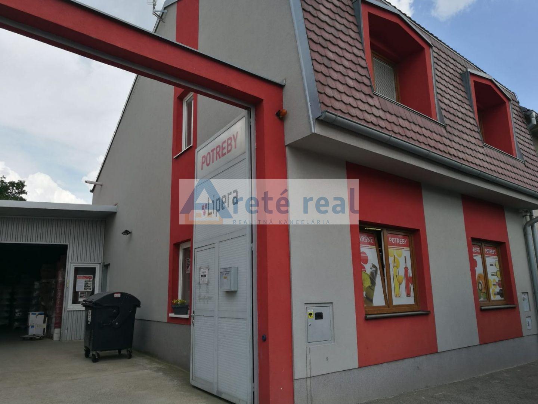 Areté real, Predaj administratívno - skladových priestorov v blízkosti centra mesta Pezinok