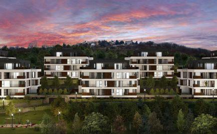 Predaj krásnych 2i bytov s terasou, predzáhradkou a parkovacím státím v novostavbe na Kolibe