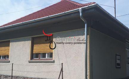 GEMINIBROKER Vám ponúka pekný domček v obci Pálháza
