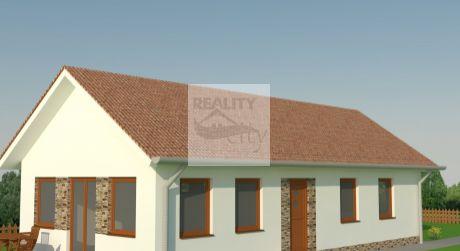 4 - izbový nízko energetický dom  82 m2, pozemok 343 m2 - Rajka