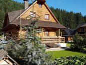 Rekreačná chata s altánkom Zázrivá