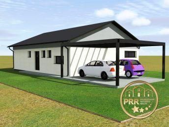 Výstavba  4-izb.RD /110m2/ na pozemku cca 600m2 vo Dvorci  pri Bánovciach n/B.