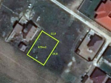 Stavebný pozemok 679m2, Sokolovce