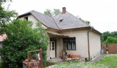 HAJNÁ NOVÁ VES 2 izb rodinný dom, veľký pozemok 3697 m2, okr. Topoľčany