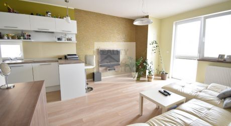 2 - izbový byt 44 m2,  dva balkóny 8 m2,  - Rajka