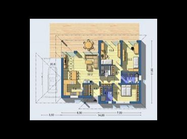 Kvalitný 4-izbový samostatný rodinný dom v Miloslavove.