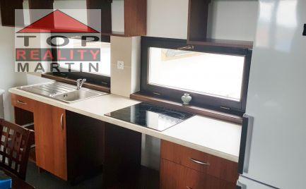 2-izbový byt 50 m2, novostavba, zariadený v Košťany nad Turcom