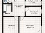 3 izb. byt, M. Sch. Trnavského, zrekonštr. podľa Vašich predstáv