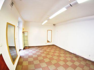 Na prenájom obchodný priestor 25 m² na Obchodnej ulici v Bratislave, voľný ihneď