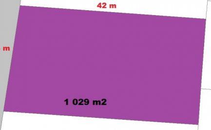 Stavebný pozemok 1 029 m2, Baláže 12 km od   B. Bystrice -  Cena 27 000€
