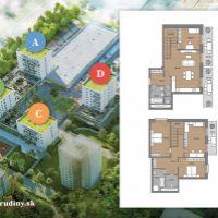 5 a viac izbový byt, Žilina, 178.10 m², Novostavba