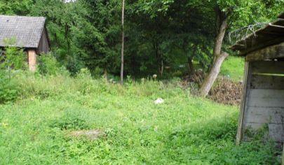 ŠÚTOVO pozemok 576m2 s drevenicou, Šútovo, okr. Martin