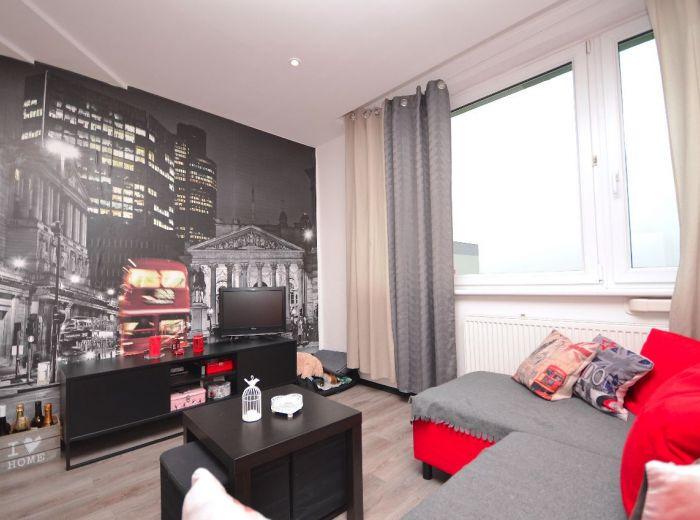 PRENAJATÉ - JASOVSKÁ, 1-i byt, 39 m2 – kompletná REKONŠTRUKCIA, samostatná kuchyňa, klimatizácia, zariadený, pivnica