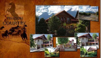 Penzión + Rodinný dom Stará Lesná