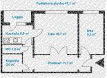 2 izb. byt, Vŕbová ul., zrekonštr. podľa Vašich predstáv