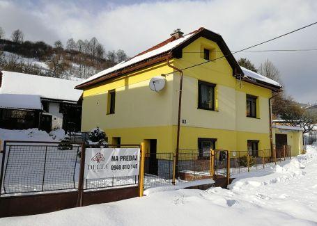 REZERVOVANÉ !!! DELTA exkluzívne ponúka Krásny 6 izbový priestranný rodinný dom s veľkým pozemkom s možnosťou komerčného využitia - lokalita Mýto pod Ďumbierom