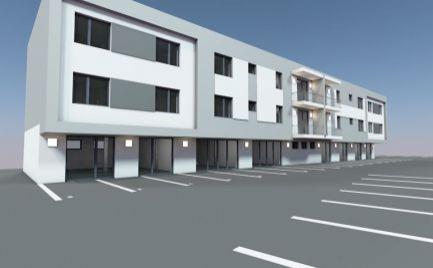 Novostavba  2 izbového  bytu  s loggiou v Rovinke.