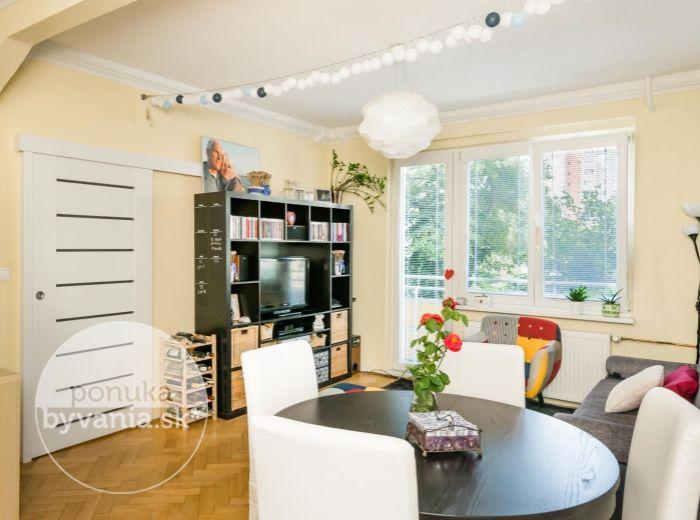 PREDANÉ - RIAZANSKÁ, 2-i byt, 61 m2 – KOMPLETNE ZREKONŠTRUOVANÝ bytový dom aj samotný byt v ZELENEJ LOKALITE so všetkým, čo potrebujete