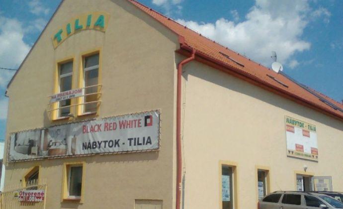 Obchodné priestory 440 m2 na prenájom, Nové Mesto nad Váhom.