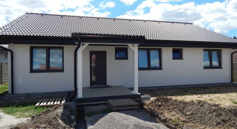 Na predaj novostavba- 4- izbový bungalov, 600 m2, Čereňany, okres Prievidza