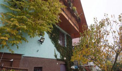 Nováky,chata,pozemok 392m2,okrasná záhrada,ovocné stromy,skleník,vlastné miesto na parkovanie