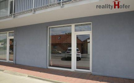 Prenájom - Obchodné priestory s výkladom v novostavbe, N. Šebastová, Prešov
