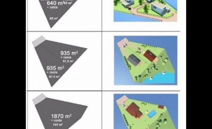 2 rovinaté a slnečné pozemky pre rodinné domy v Bojniciach 540m2 a 630m2 - so stavebným povolením