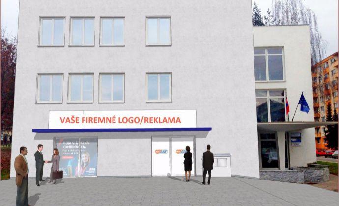 Najlacnejšie kancelárske a prevádzkové priestory v Prievidzi od 20 m2 do 500 m2 - Centrum - Dlhá ulica