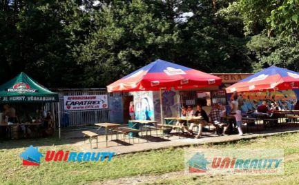 TOPOĽČANY - DUCHONKA – BUFET s terasou ideálny na letné akcie