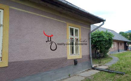GEMINIBROKER Vám ponúka na predaj dom v tichej časti obce Gönc