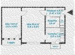 2 izb. byt, Herlianska ul., po komplet. rekonštrukcii