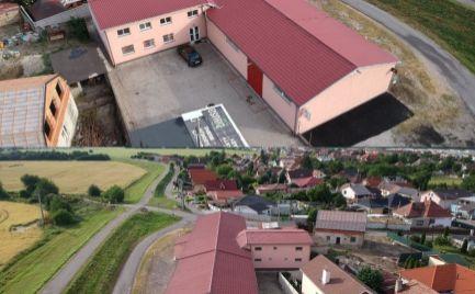 Priestranný a dobre riešený výrobno - skladový objekt v Dunajskej Lužnej