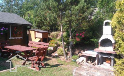 Relaxačná chatka v krásnom prostredi v obci Hrušov.