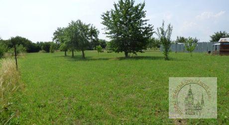 Veľký pozemok s možnosťou delenia v obci Zemplínska Teplica (157/18)