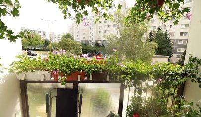 Exkluzívne, dobre situovaný a dispozične riešený, 3 izbový byt,80m2, loggia,predaj, Košice-KVP, Húskova