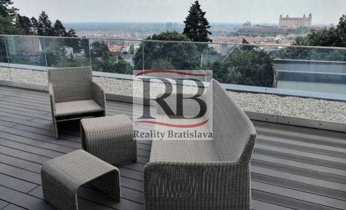 Exkluzívne byty pod Slavínom, aj s terasami a krásnym výhľadom