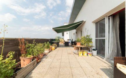 Na predaj slnečný 4 izbový byt s veľkou terasou Dúhova ul.v Rovinke