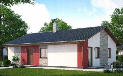 Novostavba bungalov 4 + KK 91 m2, na kľúč, Banská Bystrica Cena 74 800€