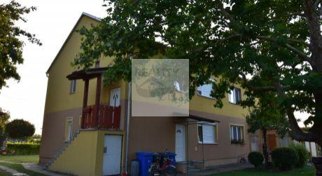 2,5 - izbový byt 56 m2 so záhradou v centre obce Rajka