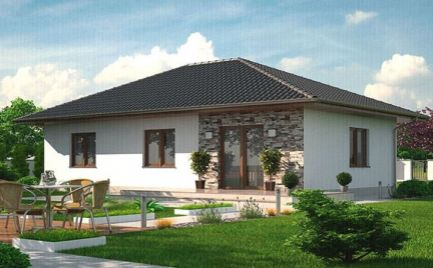 Novostavba bungalov 4 + KK 80 m2, na kľúč, Banská Bystrica Cena 70 400€