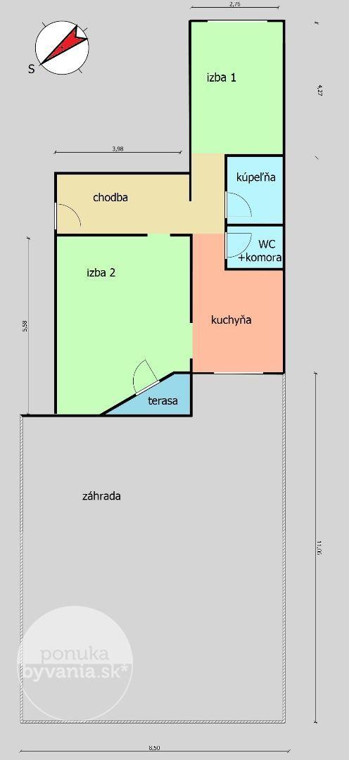 ponukabyvania.sk_J.Farkaša_2-izbový-byt_archív